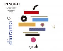 Diorama Syrah etiqueta